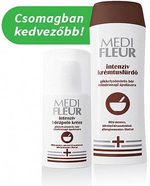 Medifleur Intenzív Bőrápoló Krém Pikkelysömörös Bőr Mindennapi Ápolására