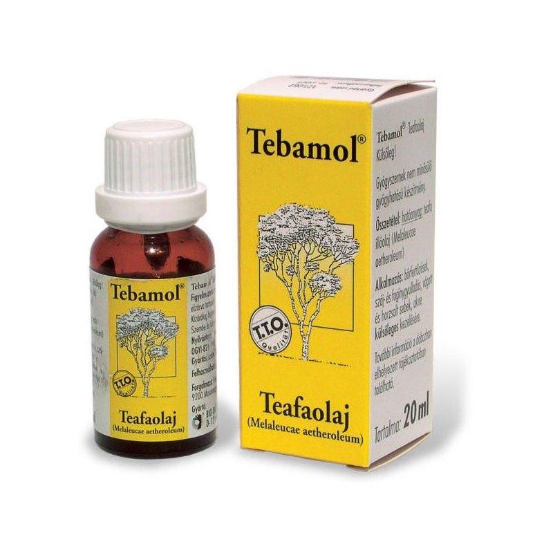 Teafaolaj: fertőtlenít és gyógyít